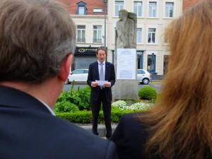 Laurent Lenoir, porte-parole du MRC du Calaisis