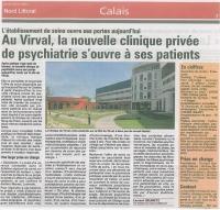 au Virval, la nouvelle clinique privée de psychiatrique s'ouvre à ses patients
