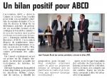 Bilan positif pour l'ABCD
