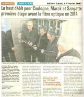 Inauguration du NRAZO à Sangatte