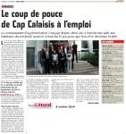 Bourse de la vocation par la communauté d'agglomération Cap Calaisis
