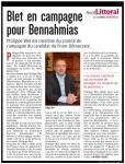 Blet en campagne pour Bennahmias