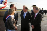 Accueil du Président de la République, François Hollande