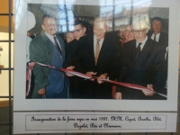 Avec André Capet et Jean-Jacques Barthe