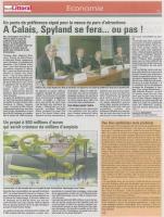 Projet de parc à théme à Calais