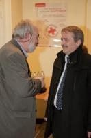 Avec le Président du comité local