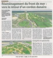 Réaménagement du Front de mer : vers le retour d'un cordon dunaire