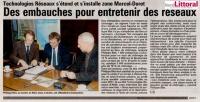 Signature de nouvel entreprise à Calais