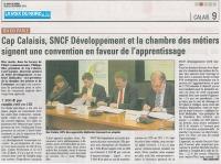 signature avec SNCF Développement