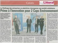 Cap Calaisis et l'innovation