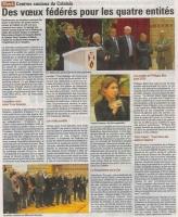 Centre Sociaux du Calaisis Voeux 2013