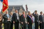 Cérémonie pour le 70ème anniversaire de la Libération de Calais