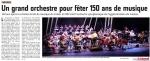 Création de l'Orchestre Symphonique de Cap Calaisis