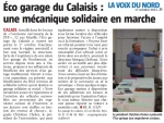 Eco-garage solidaire à Calais