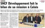 SNCF Développement et soutien à la Communauté d'Agglomération Cap Calaisis