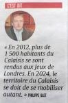 A propos des Jeux Olympiques Paris 2024